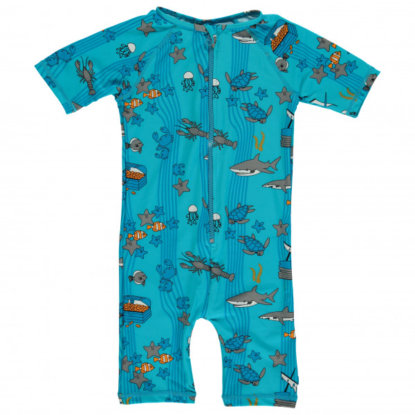 Smafolk - Kid's UV50 UV Suit Short S/L And Apple - Overall