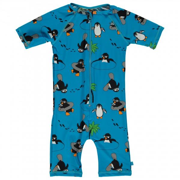 Smafolk - Kid's UV50 UV Suit Short S/L And Penguin - Kedeldragt