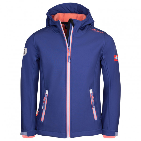 Trollkids - Girl's Trollfjord Jacket - Softshell jacket