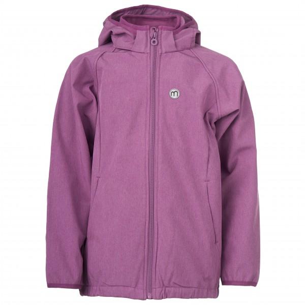Minymo - Kid's Softshell Jacket Girl Outerwear - Softskjelljakke