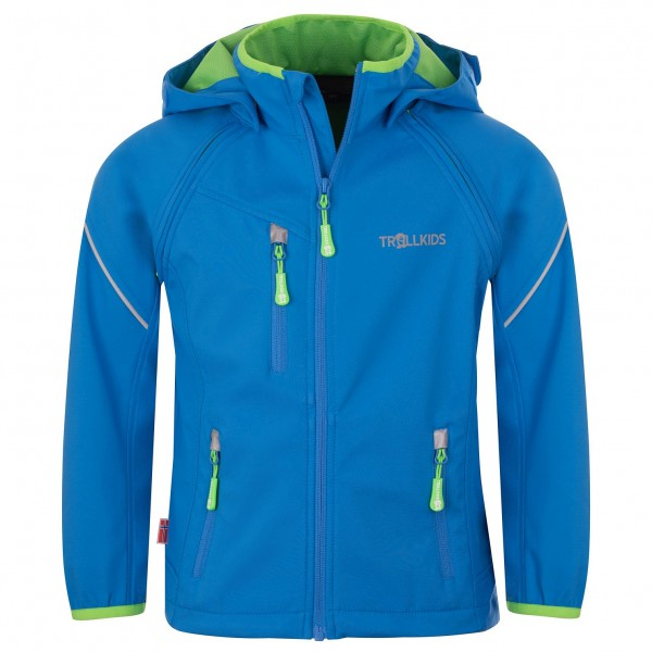 Trollkids - Kid's Rondane Zip Off Jacket - Softshell jacket