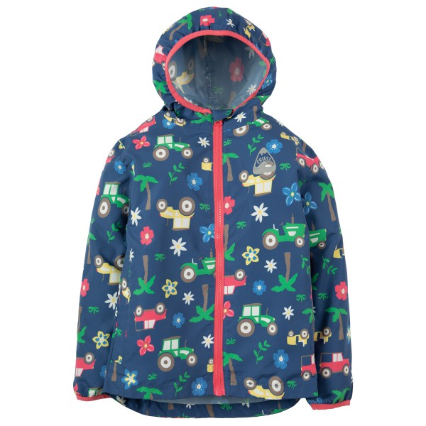 Frugi - Kid's Puddle Buster Packaway Jacket - Regnjacka