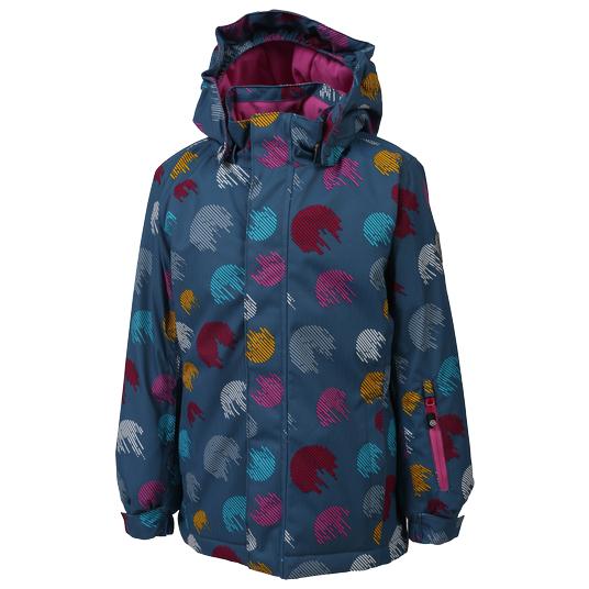 Color Kids - Kid's Donja Padded Ski Jacket AOP - Skijakke