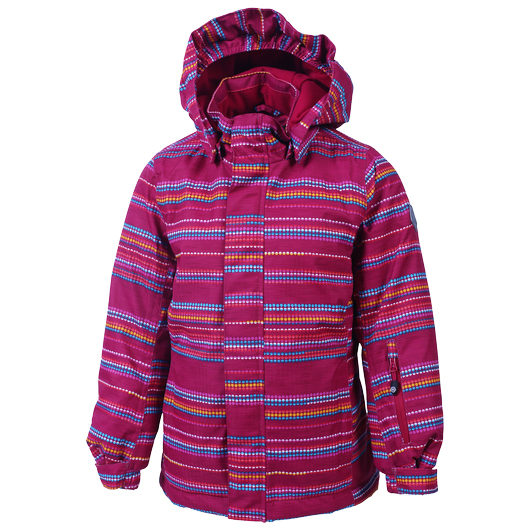 Color Kids - Kid's Donja Padded Ski Jacket AOP - Laskettelutakki