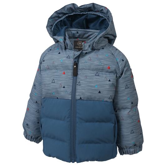 Color Kids - Kid's Sheik Mini Padded Jacket AOP - Winterjacke