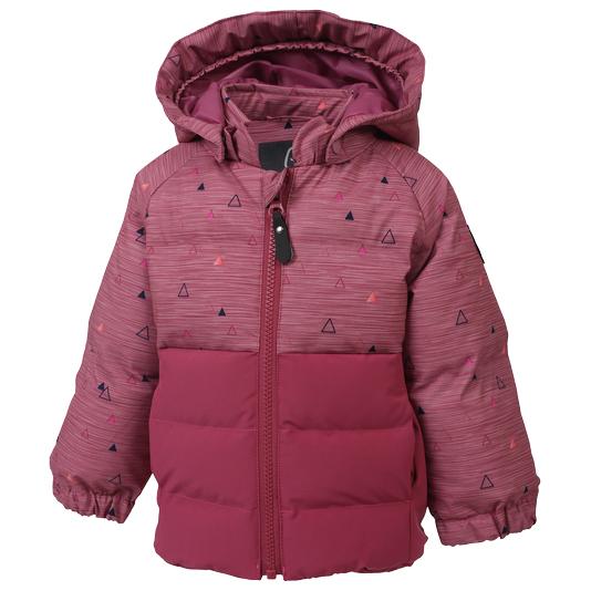 Color Kids - Kid's Sheik Mini Padded Jacket AOP - Vinterjakke