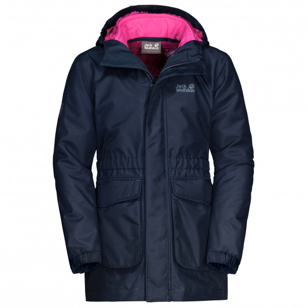 Jack Wolfskin - Ice Cave 3in1 Jacket Girls - 3 i 1-jakke