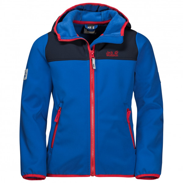 Jack Wolfskin - Kid's Fourwinds Jacket - Softshelljacka