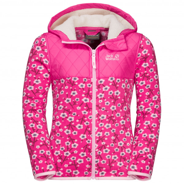 Jack Wolfskin - Kid's Nordic Hooded Jacket - Fleecejakke