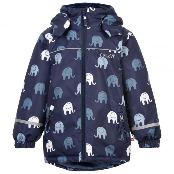 CeLaVi - Kid's Jacket Elephant AOP - Regnjakke