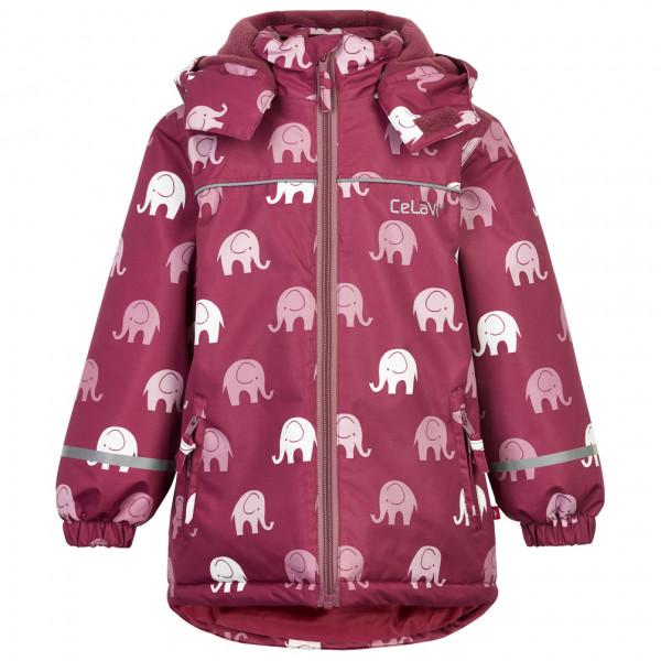 CeLaVi - Kid's Jacket Elephant AOP - Regenjack