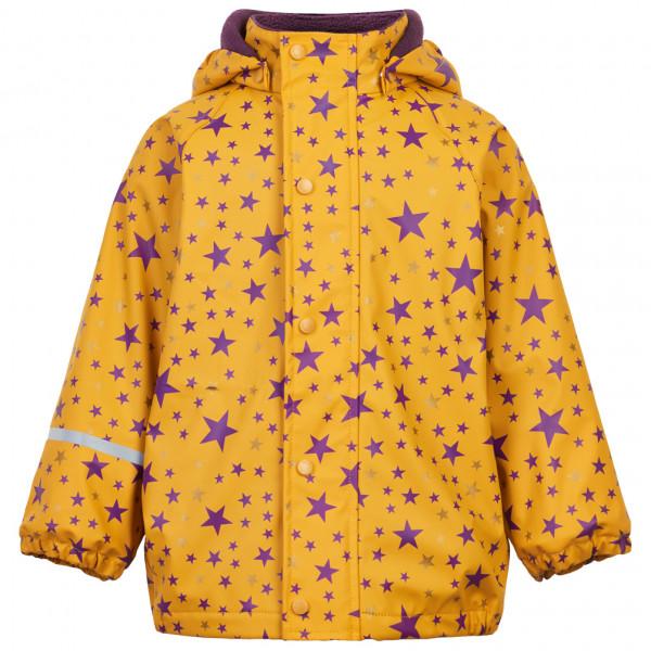 CeLaVi - Kid's Rain Jacket AOP with Fleece - Regnjakke