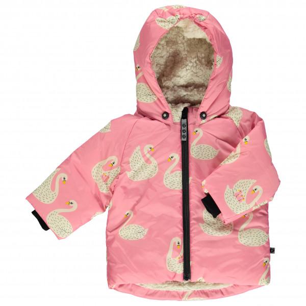 Smafolk - Baby Winter Jacket with Swans - Winterjack