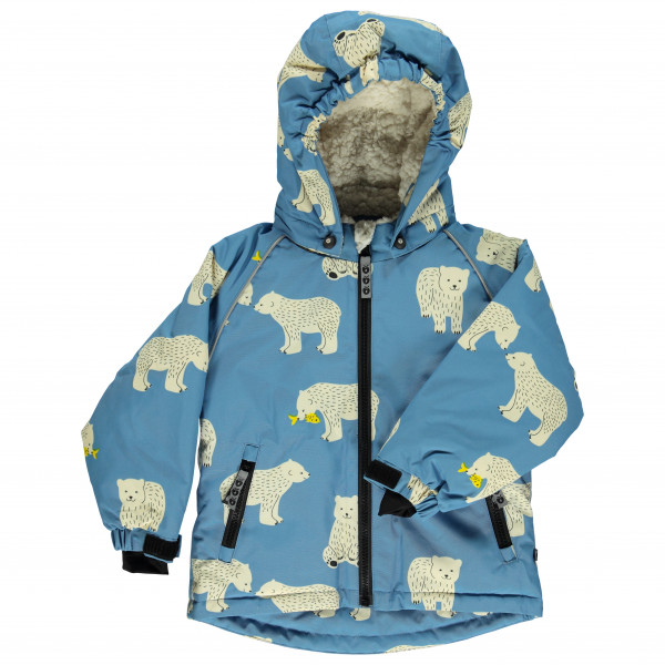 Smafolk - Kid's Winter Jacket with Bear - Winterjacke
