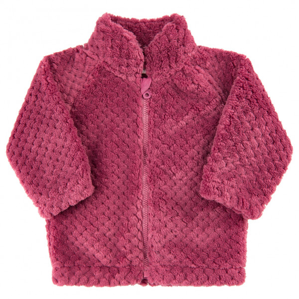 Minymo - Baby's Teddy Jacket with Zipper - Fleecetakki