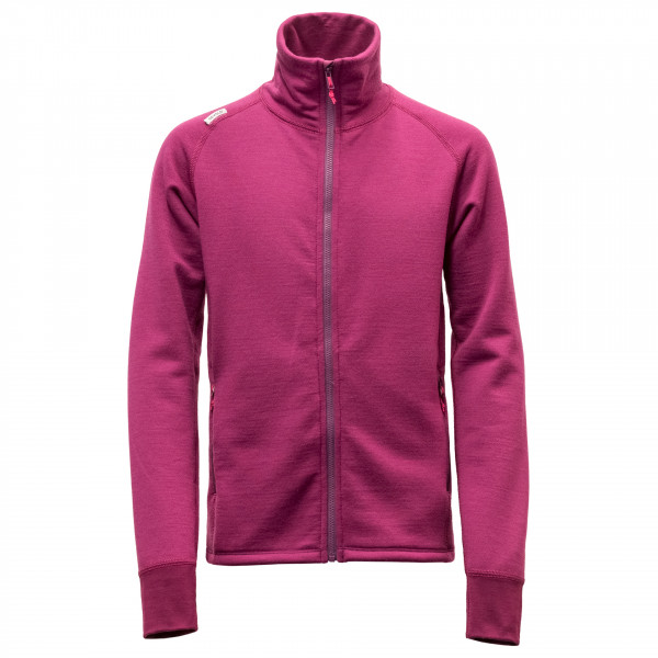 Devold - Kid's Fiskå Junior Jacket - Wool jacket
