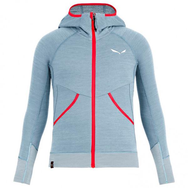 Salewa - Kid's Puez Hybrid PL G Full Zip Hoody - Fleece jacket