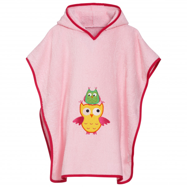 Kid's Frottee-Poncho Eule - Poncho