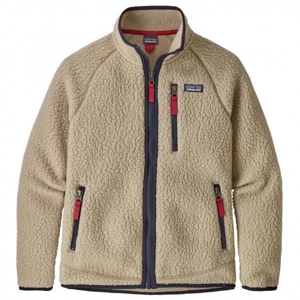 Boy's Retro Pile Jacket - Fleece jacket