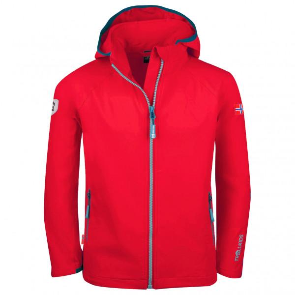 Kid's Kvalvika Jacket - Softshell jacket