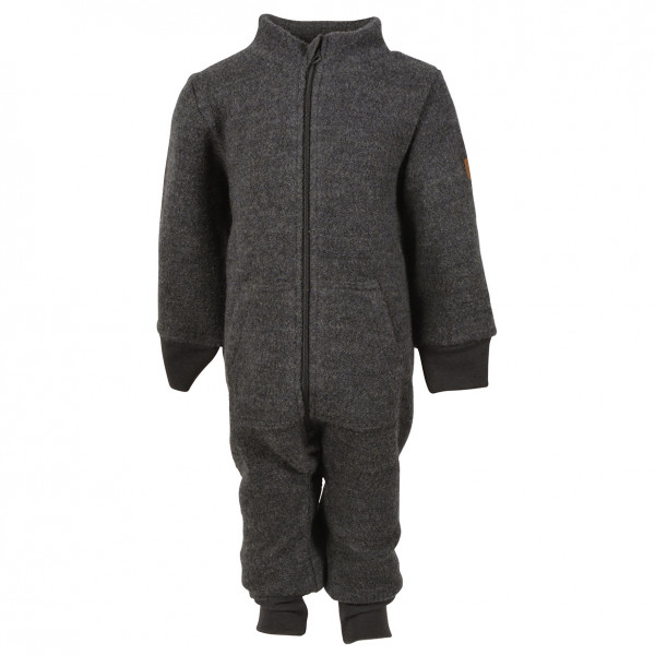 Mikk-Line - Kid's Boiled Wool Suit with Rib - Overall