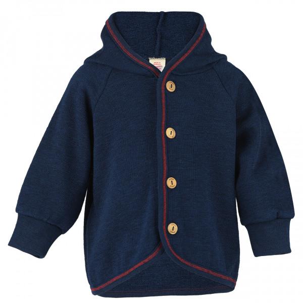 Baby-Kapuzenjacke mit Holzkn ¶pfen - Casual jacket