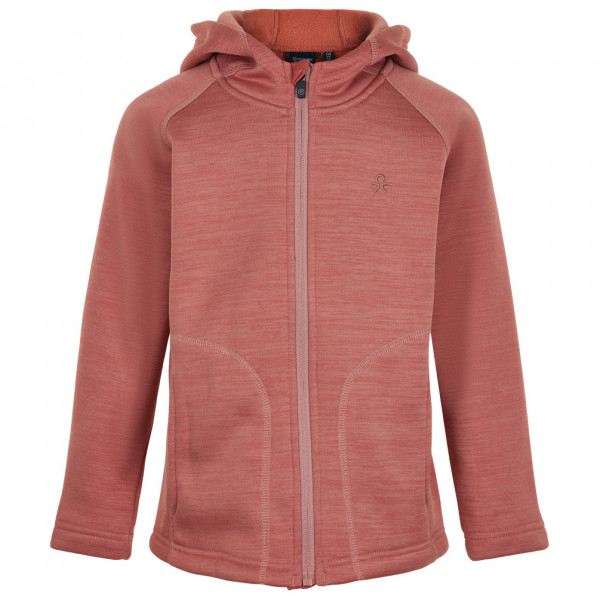 Color Kids - Kid's Fleece Melange Jacket Hood - Fleecejacke