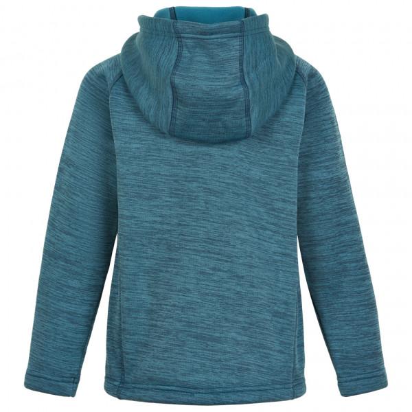 Kid's Fleece Melange Jacket Hood - Fleece jacket