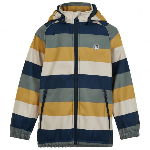 Minymo - Boy's Softshell Jacket Stripe - Softshell jacket