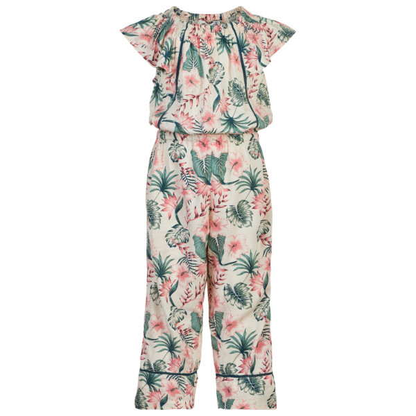 Girl's Jumpsuit S/S All Over Print - Jumpsuit