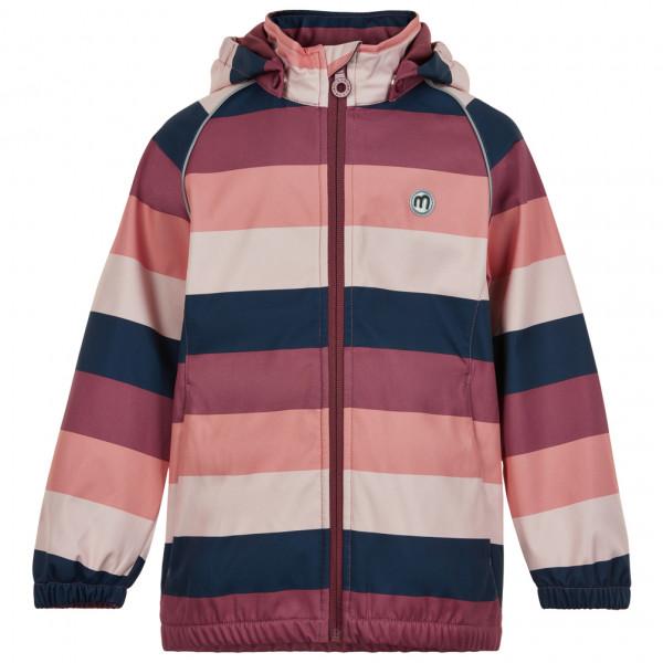 Minymo - Girl's Softshell Jacket Stripe - Softshell jacket