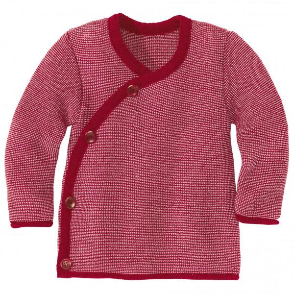 Kid's Melange-Jacke - Merino jacket