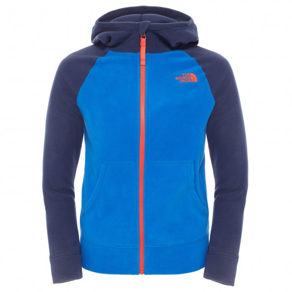 The North Face - Boy's Glacier Full Zip Hoodie - Polaire