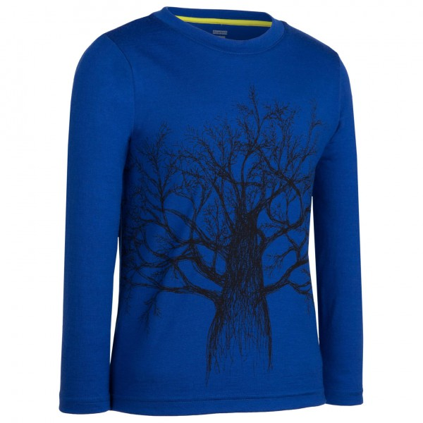 Icebreaker - Kids LS Top Timber - Longsleeve