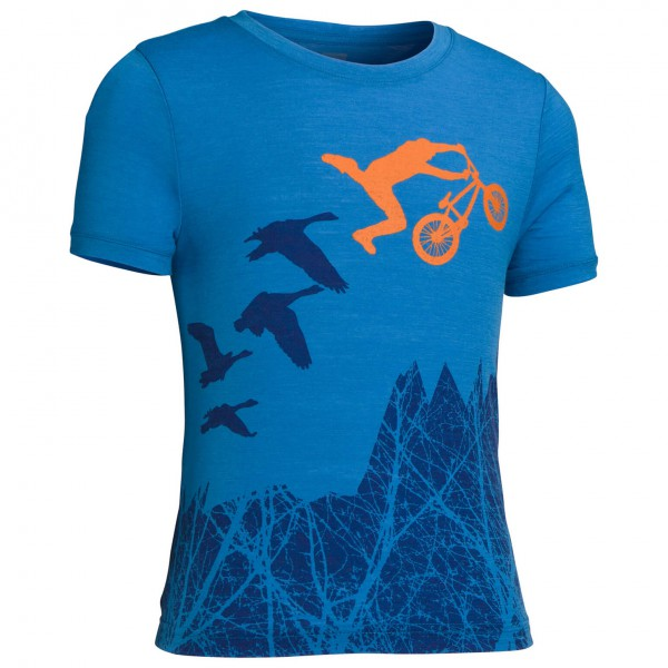 Icebreaker - Kids Tech T Lite Flyer - T-Shirt
