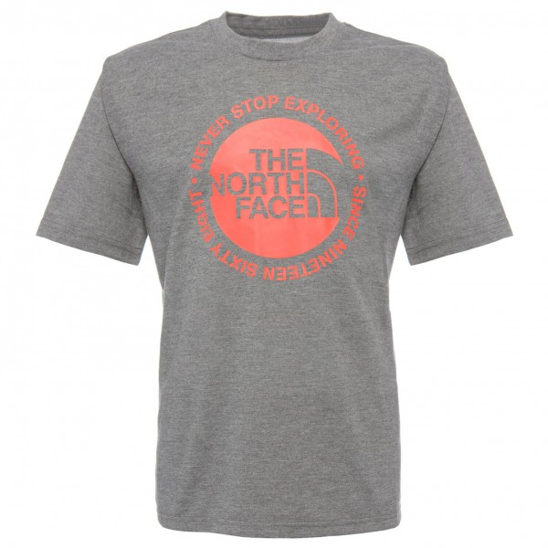 The North Face - Boy's S/S Circle Logo Reaxion Tee - T-Shirt