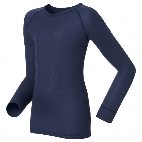 Odlo - Shirt L/S Crew Neck Warm Kids - Long-sleeve