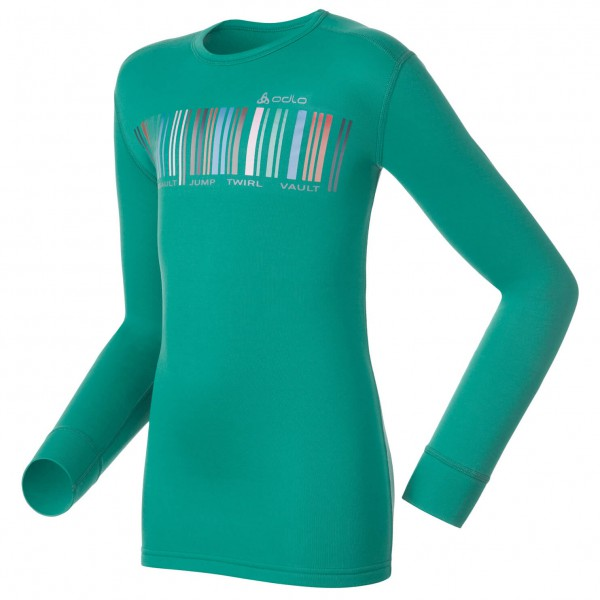 Odlo - Shirt L/S Crew Neck Warm Trend Kids (Graphics)