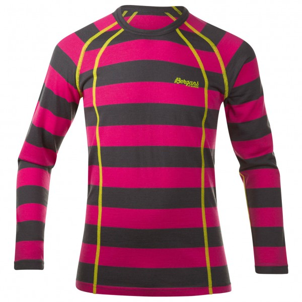 Bergans - Youth Fjellrapp Shirt - Funktionsshirt