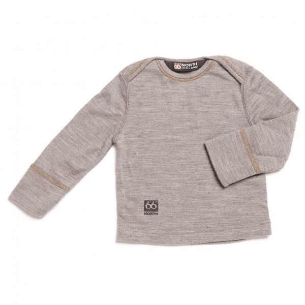 66 North - Kids Spoi Top - Sous-vêtements en laine mérinos