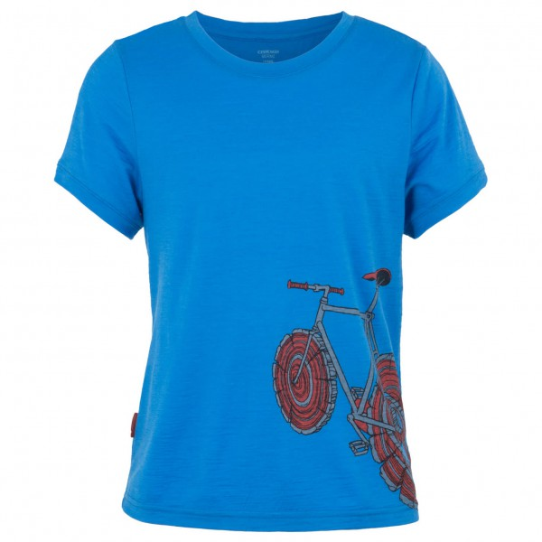 Icebreaker - Kids Tech T Lite SS Log Bike - T-shirt
