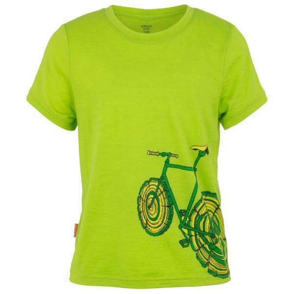 Icebreaker - Kids Tech T Lite SS Log Bike - T-paidat