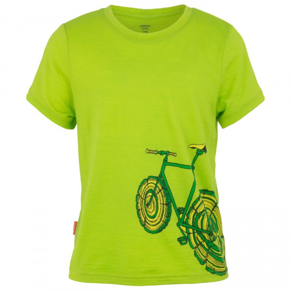 Icebreaker - Kids Tech T Lite SS Log Bike - T-shirt