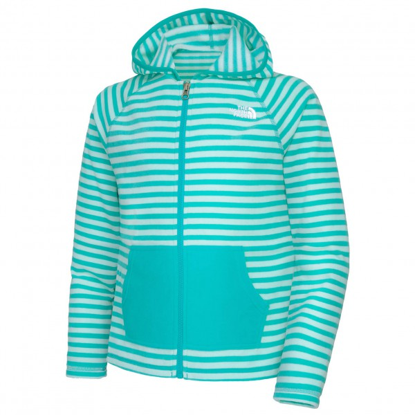 The North Face - Girl's Printed Glacier Full Zip Hoodie