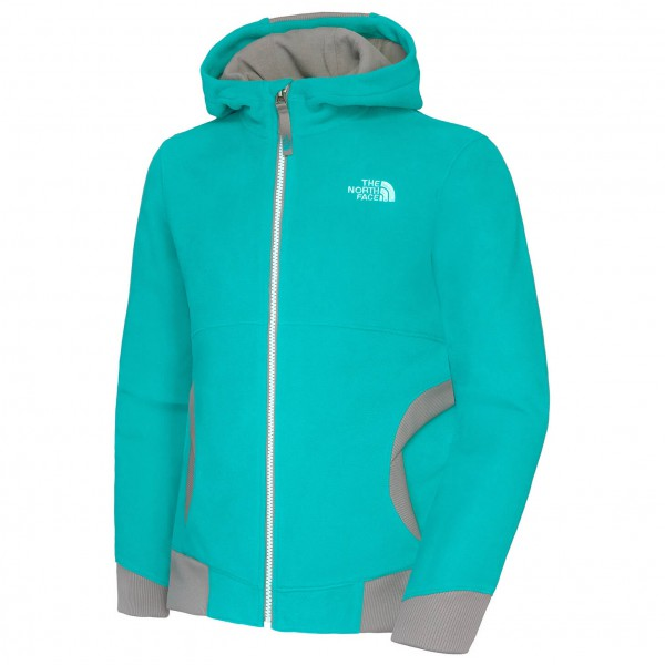 The North Face - Girl's Super Glacier Full Zip Hoodie