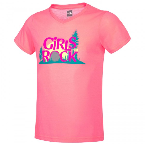 The North Face - Girl's SS Camp TNF Tee - T-Shirt