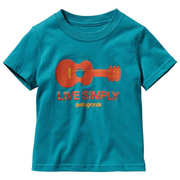 Patagonia - Kid's Baby Live Simply Guitar T-Shirt
