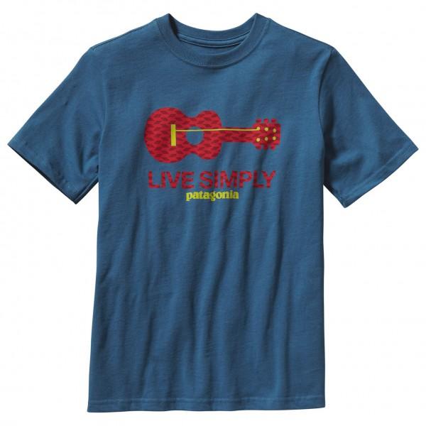 Patagonia - Boy's Live Simply Guitar T-Shirt