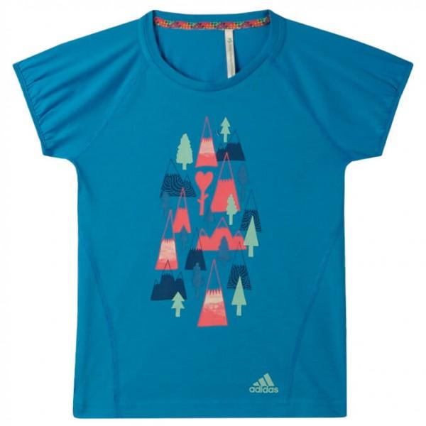 Adidas - Girl's Print Tee - T-paidat