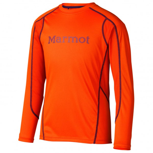 Marmot - Boy's Windridge With Graphic Ls - Manches longues